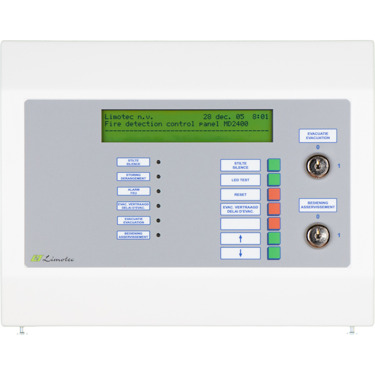 MD2400 redundant repeater panel