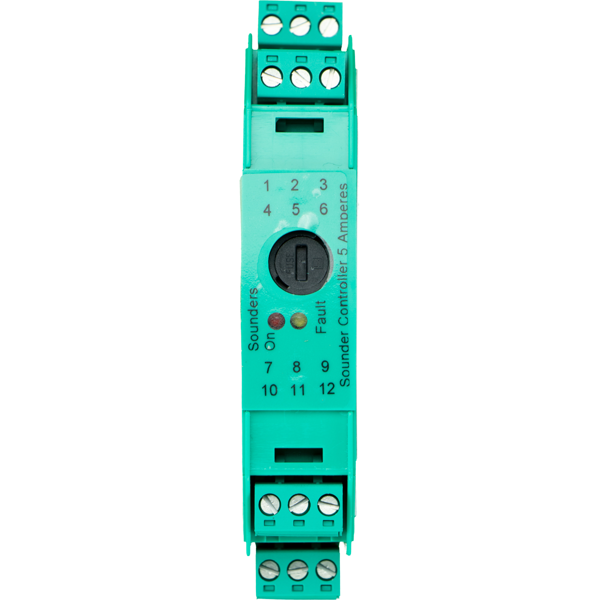 XP95 sounder controller 5A - DIN-rail